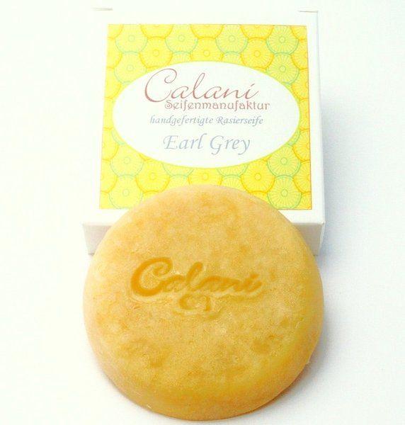 Mydło do golenia Calani Earl Grey (sorry za jakość, ale zdjęcie pochodzi z serwisu producenta)