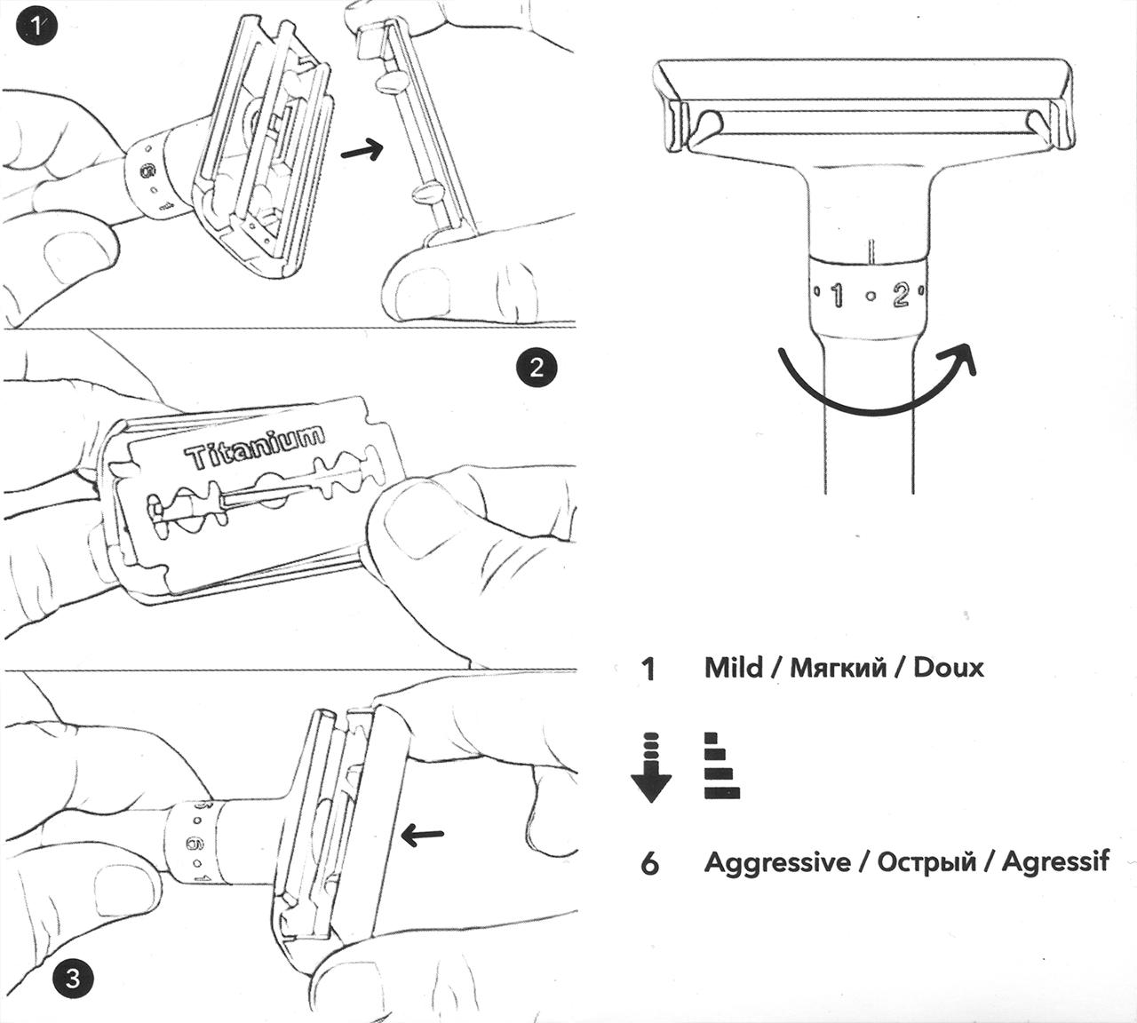 Instrukcja obsługi maszynki do golenia Qshave