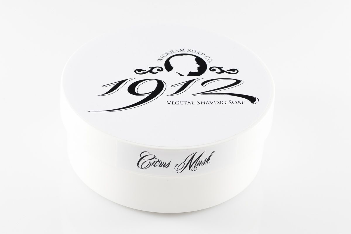 Mydło do golenia Wickham 1912 Citrus Musk Shaving Soap