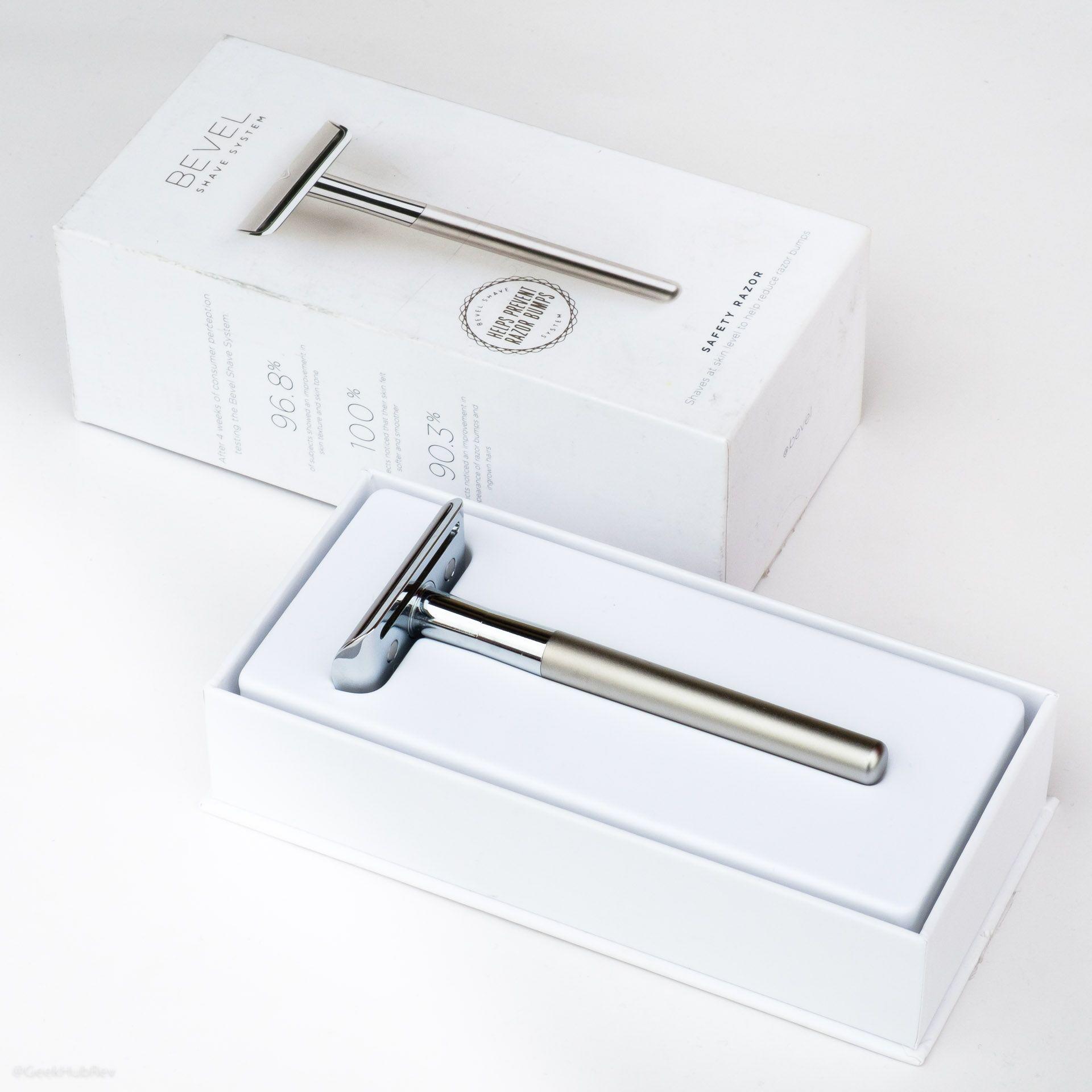 Opakowanie maszynki do golenia na żyletki Bevel Safety Razor