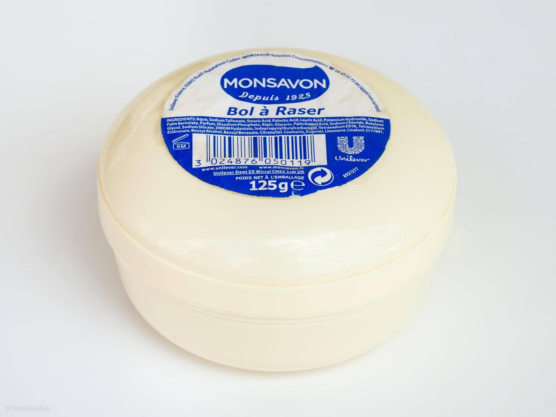 Opakowanie mydła do golenia Monsavon Bol à Raser