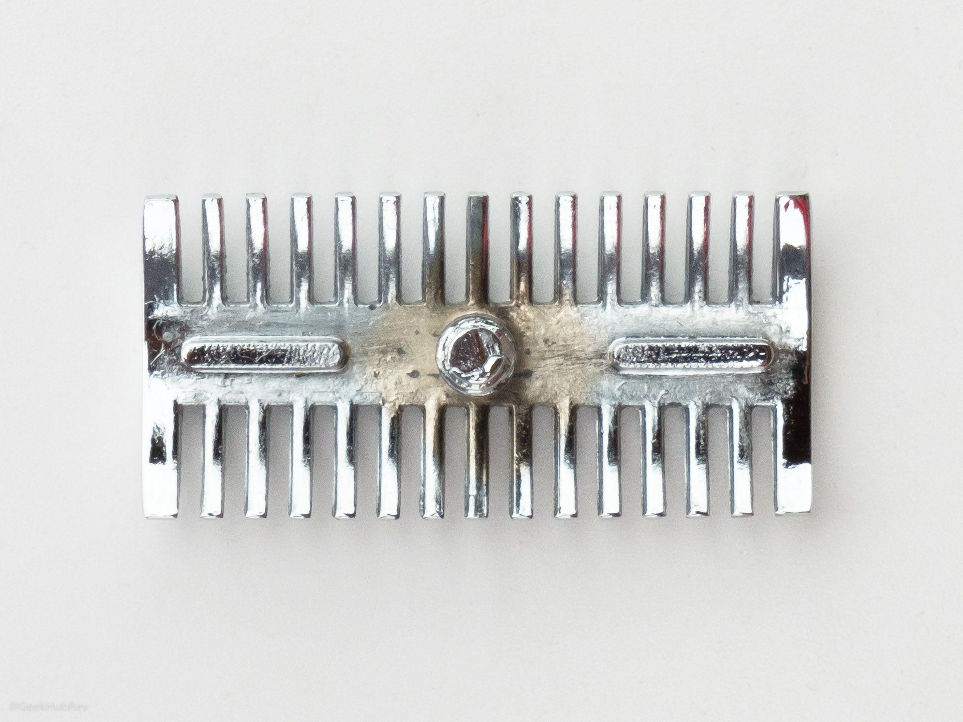Wykończenie spodu górnej części głowicy w maszynce Phoenix DOC