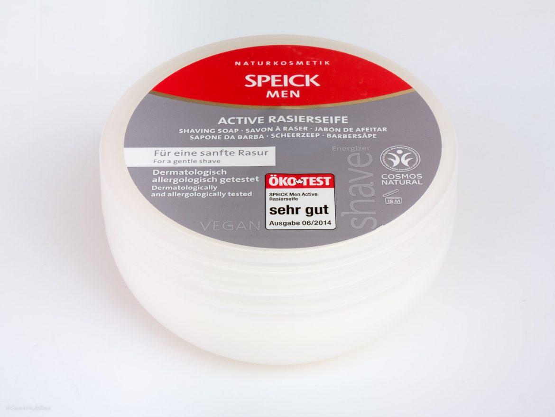 Opakowanie mydła do golenia Speick Men Active RAsierseife