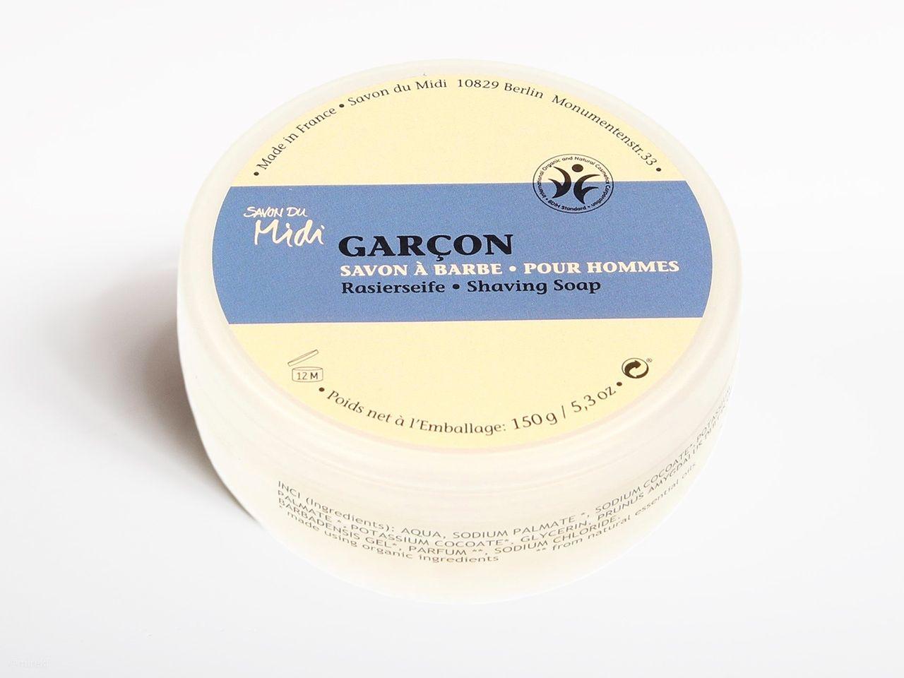 Opakowanie mydła do golenia Savon du Midi Garson