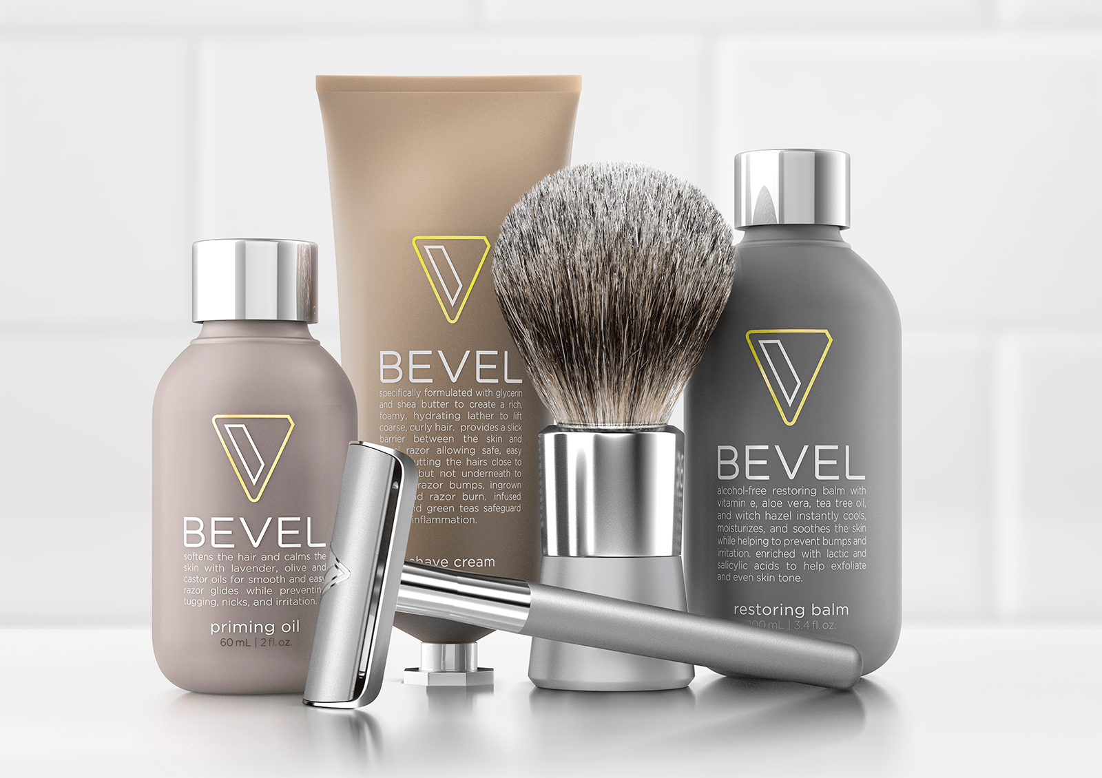 Bevel Shave System (zdjęcie Walker & Co.)