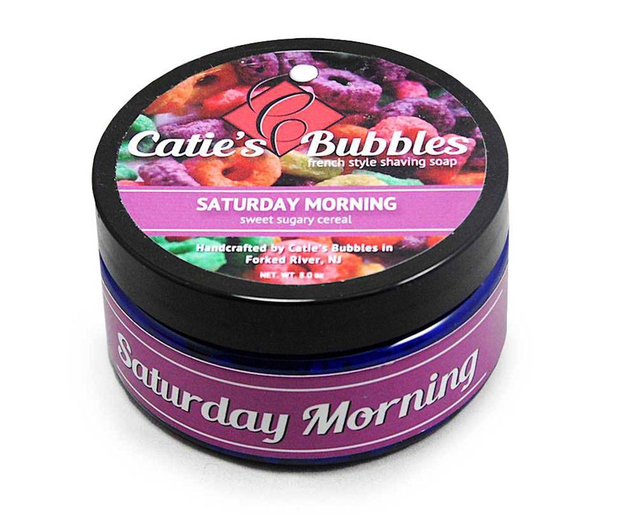 Opakowanie mydła do golenia Catie's Bubbles Saturday Morning Shaving Soap
