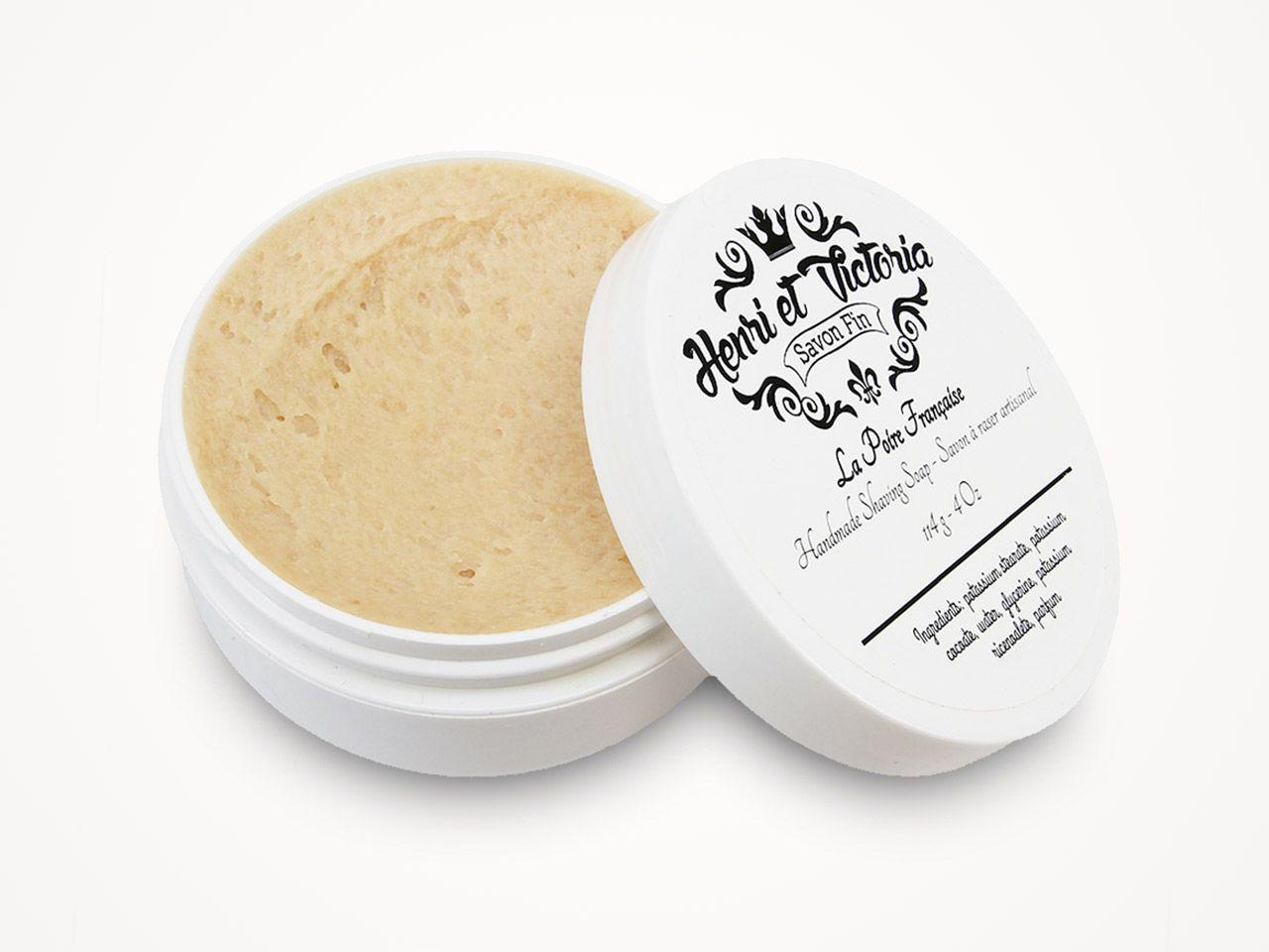 Mydło do golenia Henri et Victoria Poire Francaise Shaving Soap