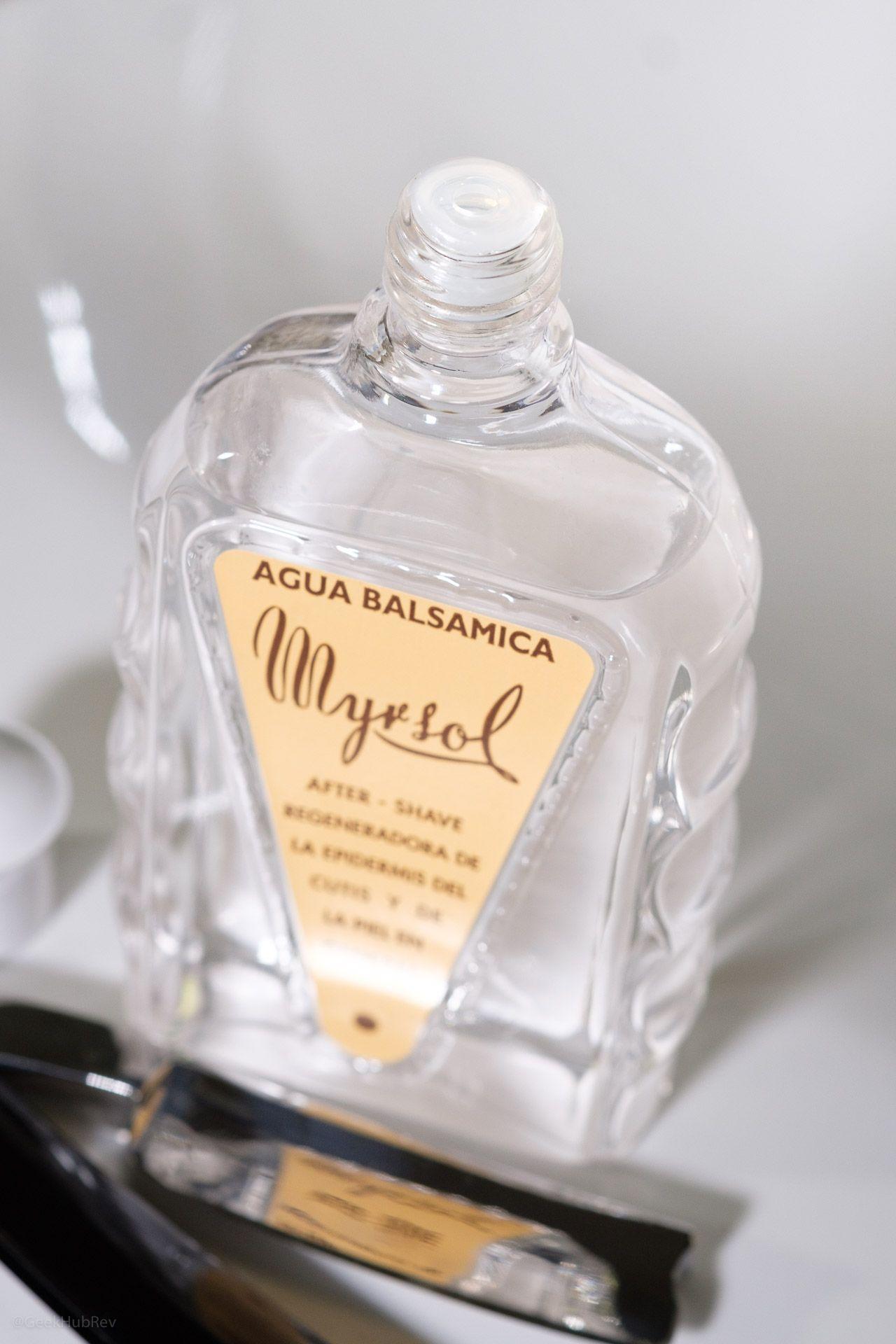 Dozownik butelki Myrsol Aqua Balsamica After Shave