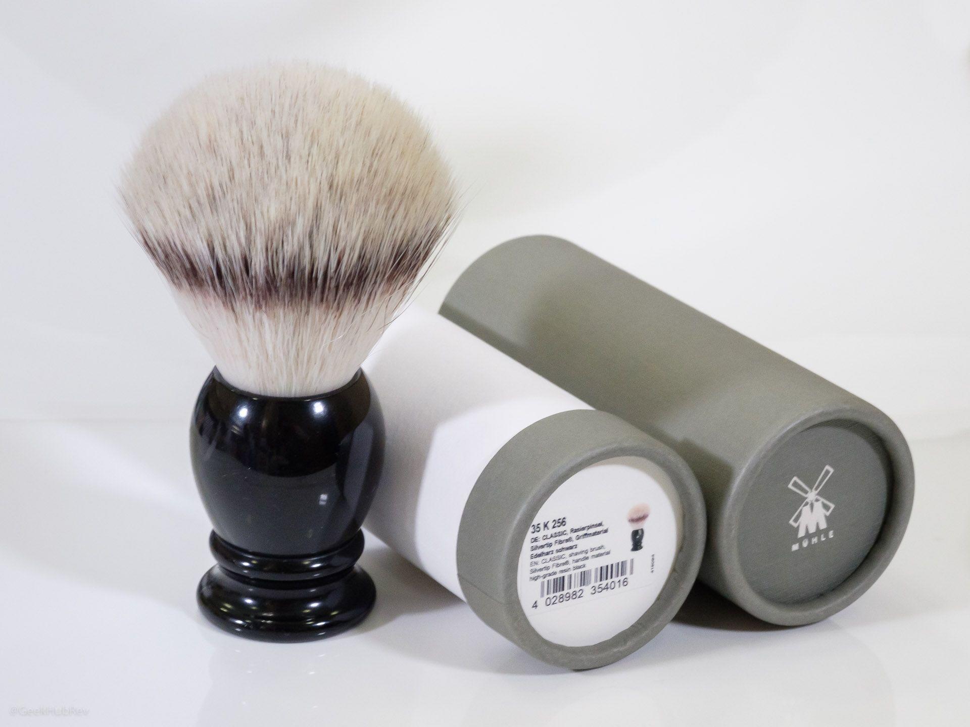 Opakowanie pędzla Mühle Classic 35K256 Silvertip Fibres Synthetic Brush