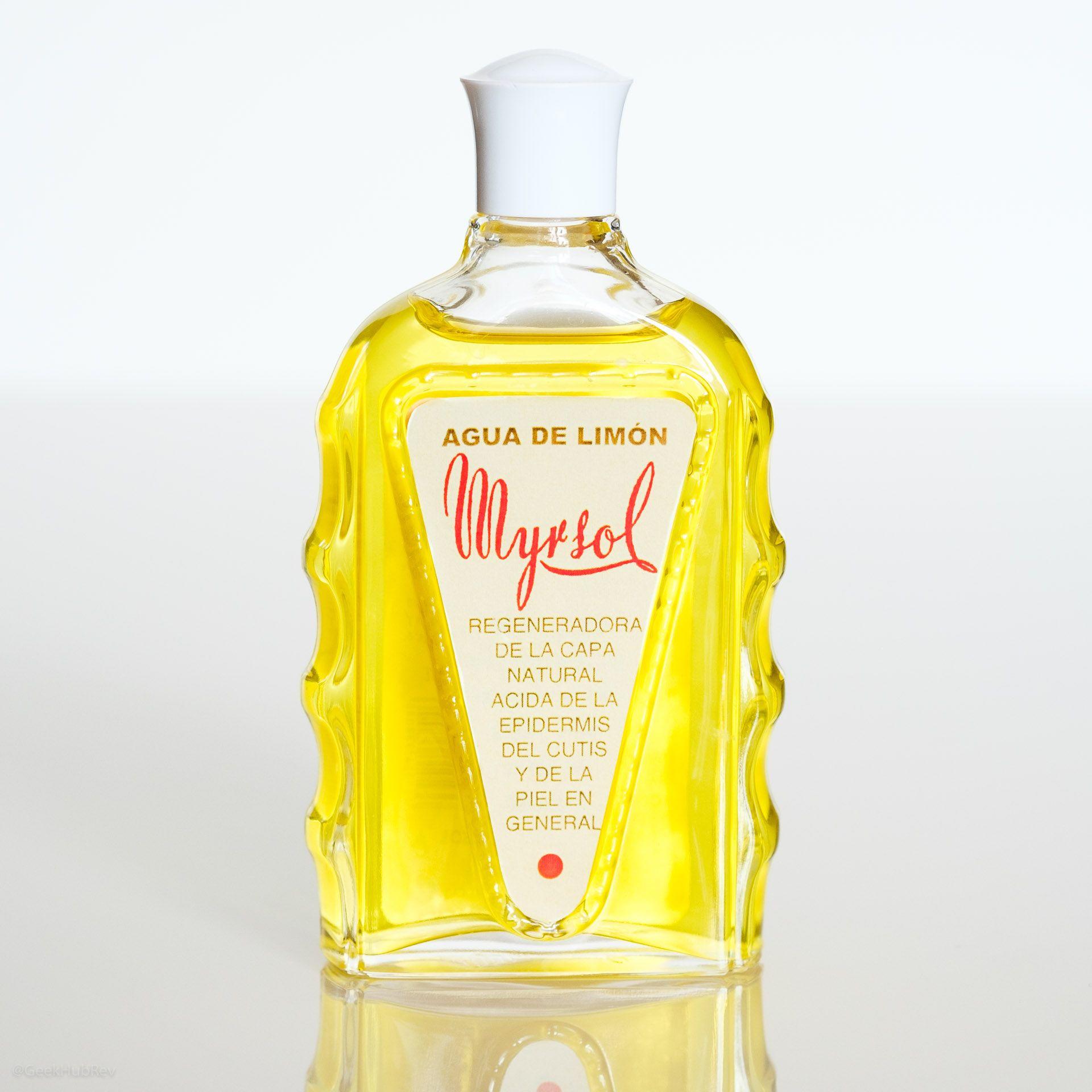 Myrsol Agua de Limon w szklanej butelce
