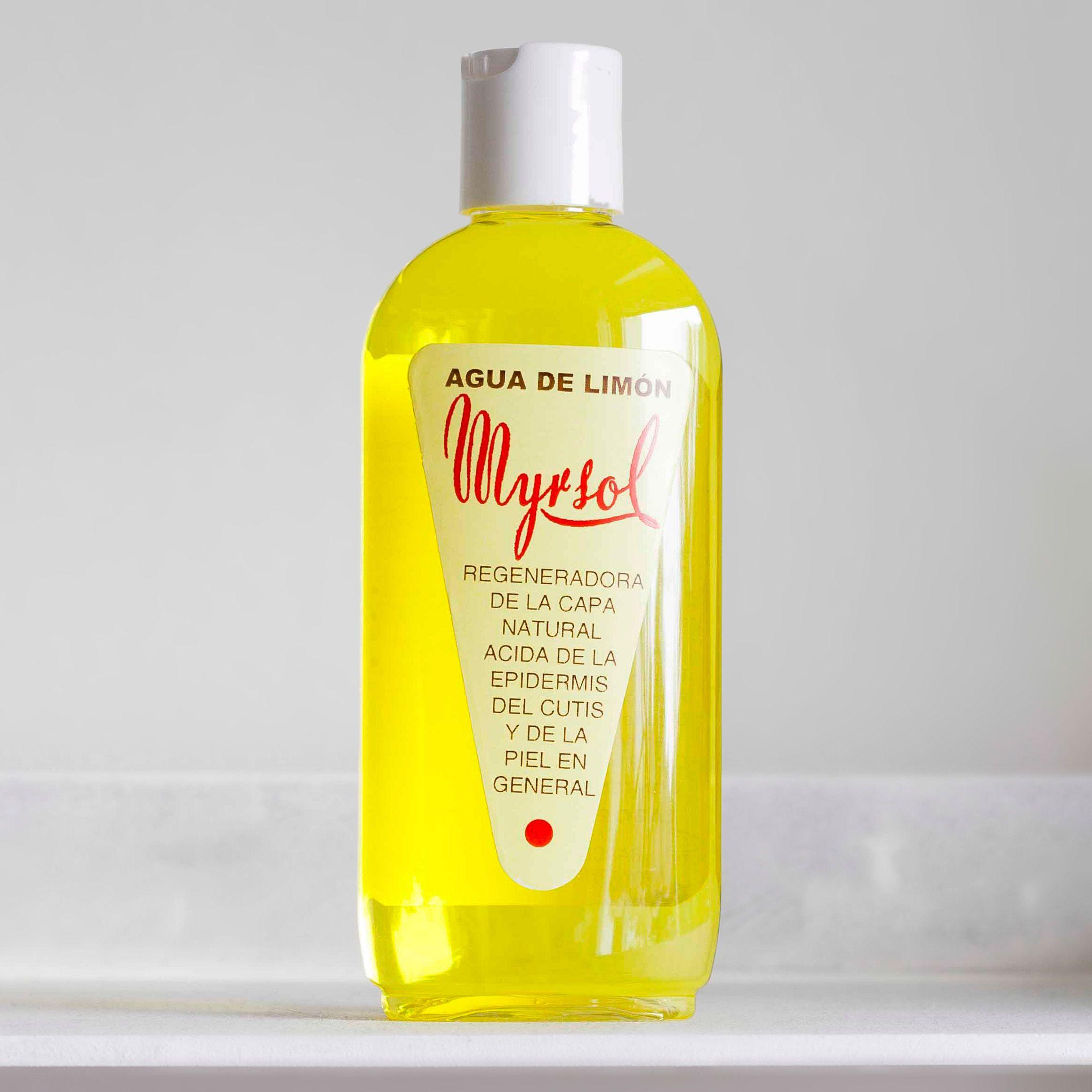 Myrsol Agua de Limón w plastikowej butelce (zdjęcie Dzik i Borsuk)