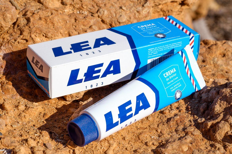 Opakowanie kremu do golenia LEA Shaving Cream
