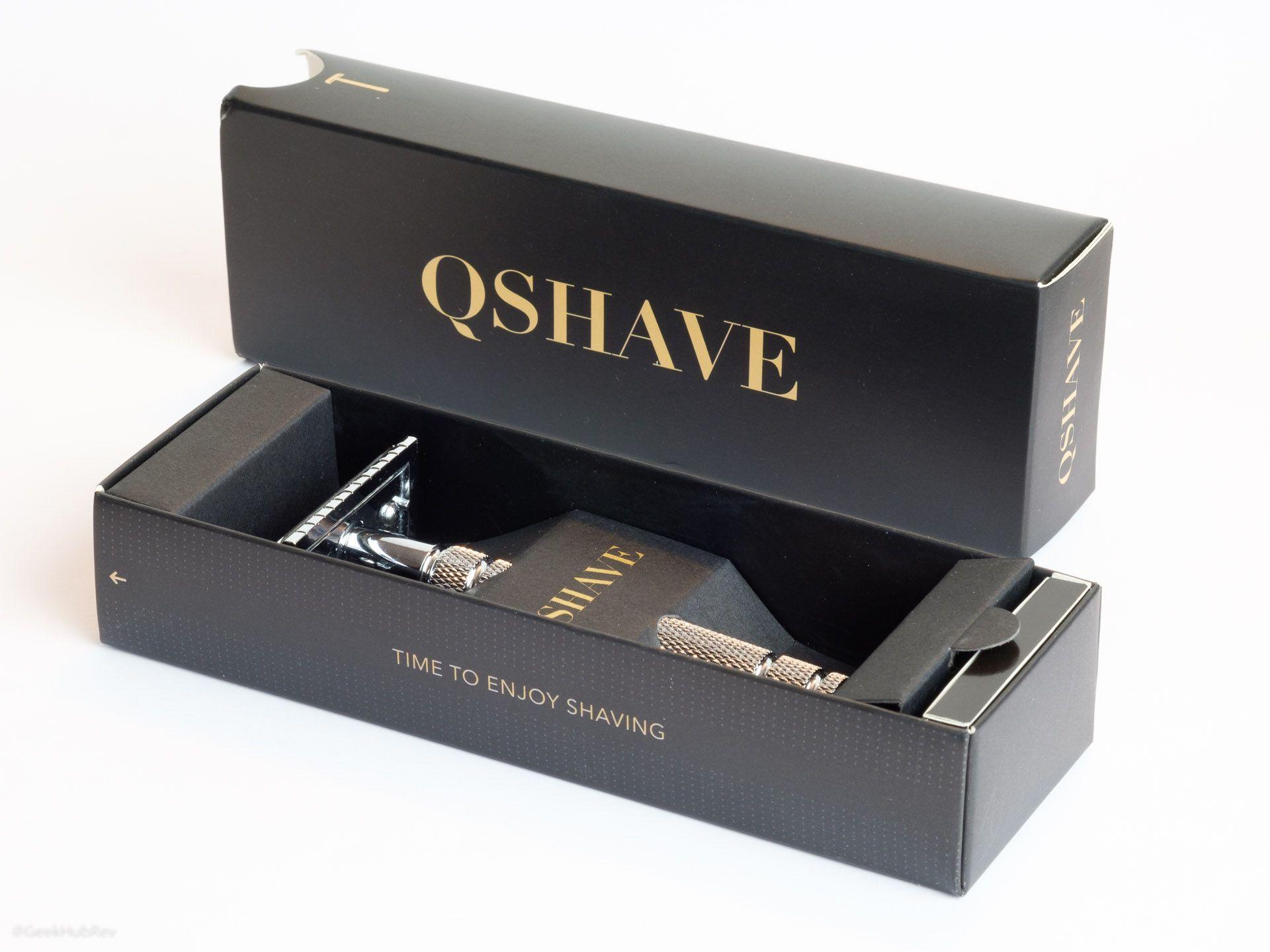 Opakowanie maszynki do golenia na żyletki QShave RD263 Safety Razor