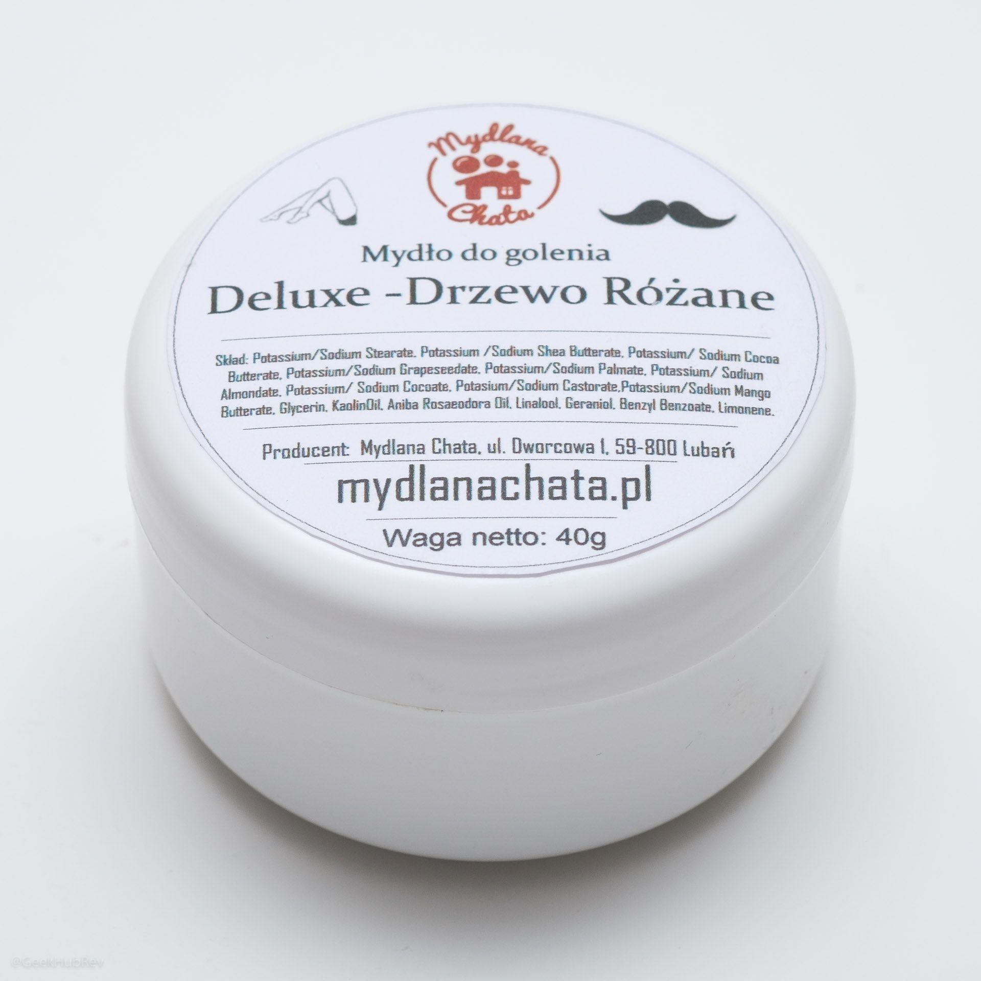 Opakowanie mydła do golenia Mydlana Chata Drzewo Różane