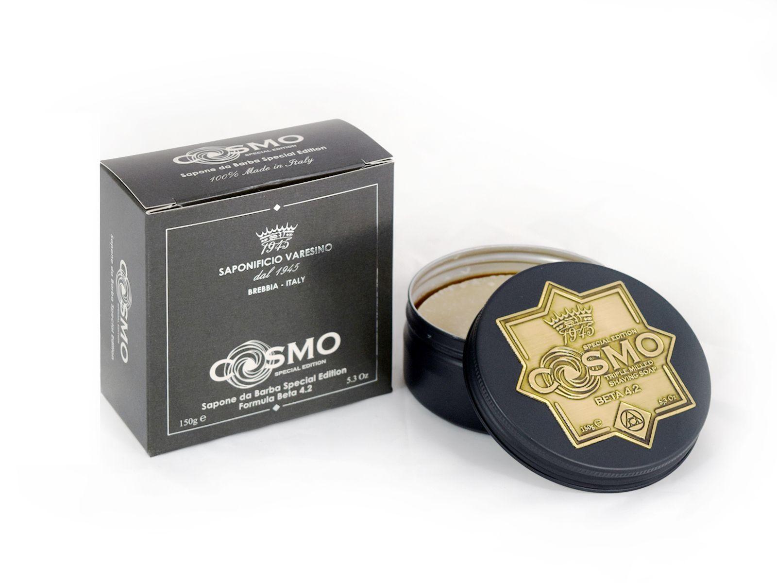 Opakowanie mydła do golenia Saponificio Varesino Cosmo Shaving Soap