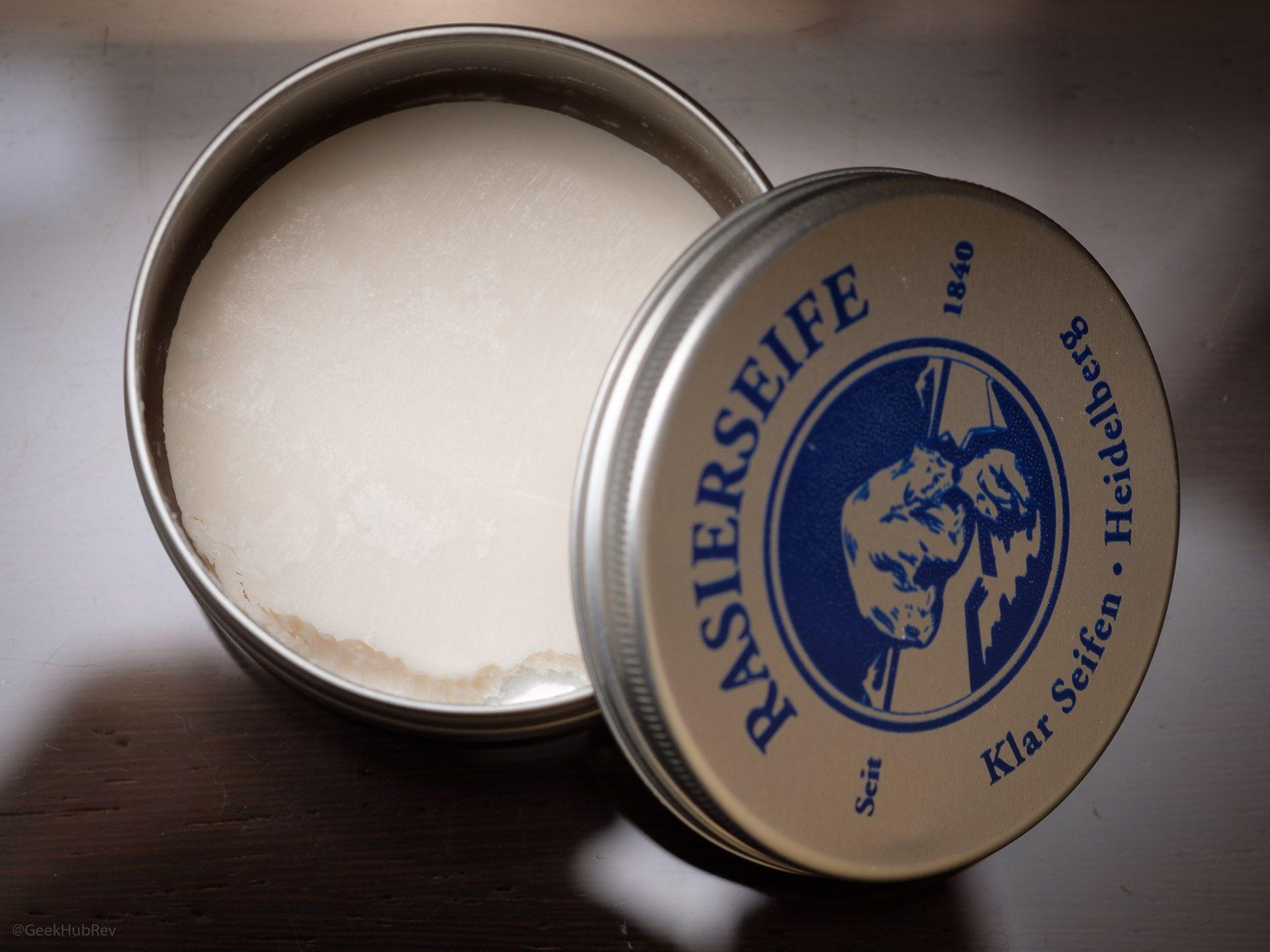 Mydło do golenia Klar Seifen Sandelholz Rasierseife (Sandalwood Shaving Soap