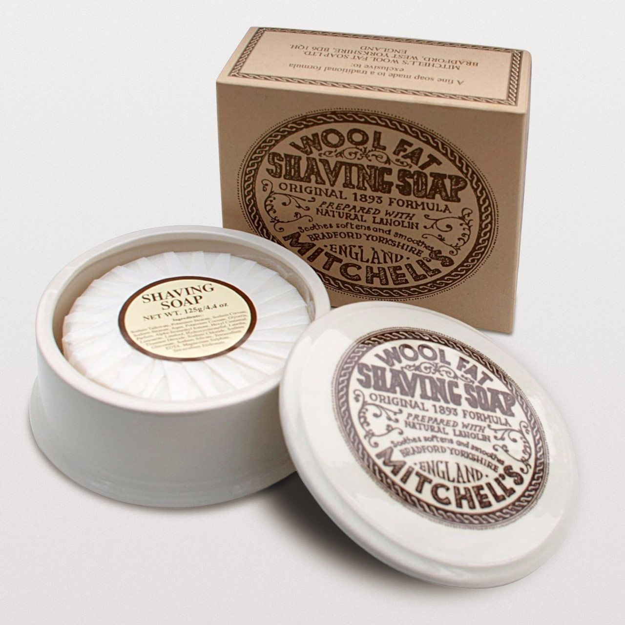 You are currently viewing Mitchell´s Wool Fat Shaving Soap – recenzja mydła do golenia