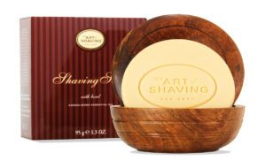 Read more about the article The Art of Shaving Sandalwood Essential Oil Shaving Soap – recenzja mydła do golenia