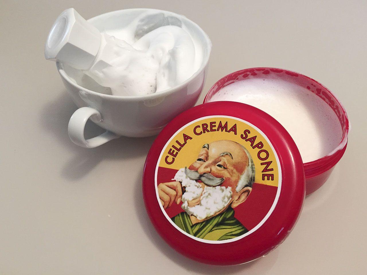 You are currently viewing Cella Crema da Barba all'Olio di Mandorla – recenzja mydła do golenia