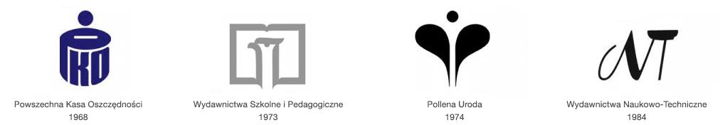 Projekty znaków autorstwa Karola Śliwki
