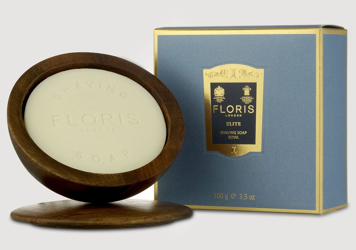 Floris London Elite w drewnianym tyglu