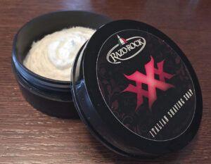 Read more about the article RazoRock XXX Italian Shaving Soap (125 ml, 2015) – recenzja mydła do golenia