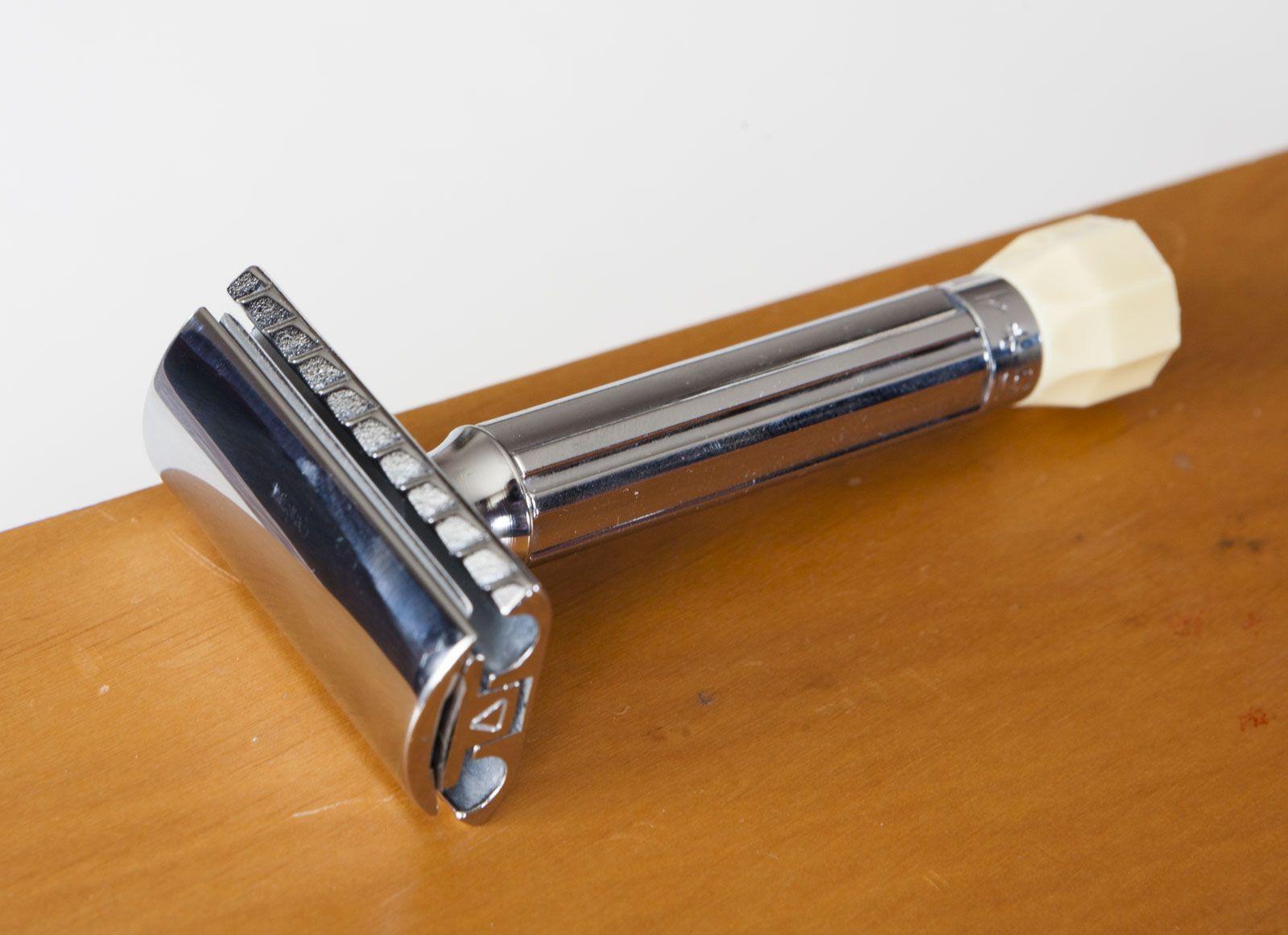 Merkur Progress – regulowana maszynka do golenia na żyletki