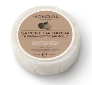 """Read more about the article Mondial Sapone da Barba """"Bergamotto Neroli"""" – recenzja mydła do golenia"""