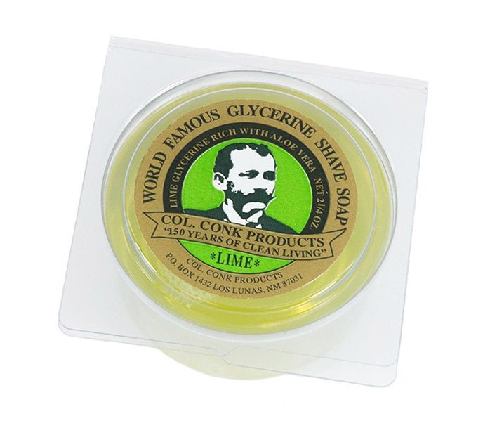 You are currently viewing Col. Conk Products Lime Shaving Soap – recenzja mydła do golenia