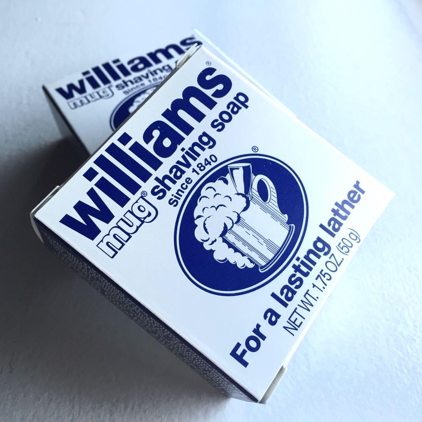 You are currently viewing Williams Mug Shaving Soap – recenzja mydła do golenia