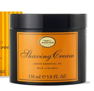 Read more about the article The Art of Shaving Lemon Essential Oil Shaving Cream