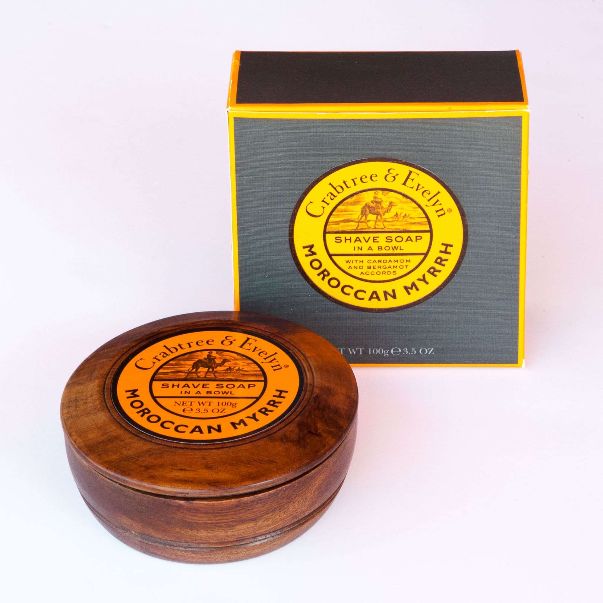 You are currently viewing Crabtree & Evelyn Moroccan Myrrh Shave Soap 2014 – recenzja mydła do golenia