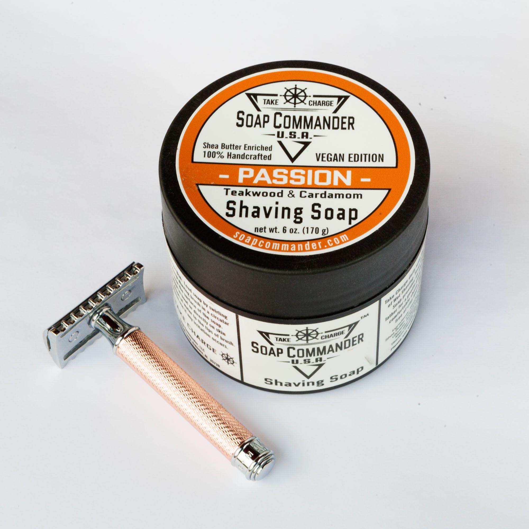 Tygiel mydła do golenia Soap Commander Passion Shaving Soap
