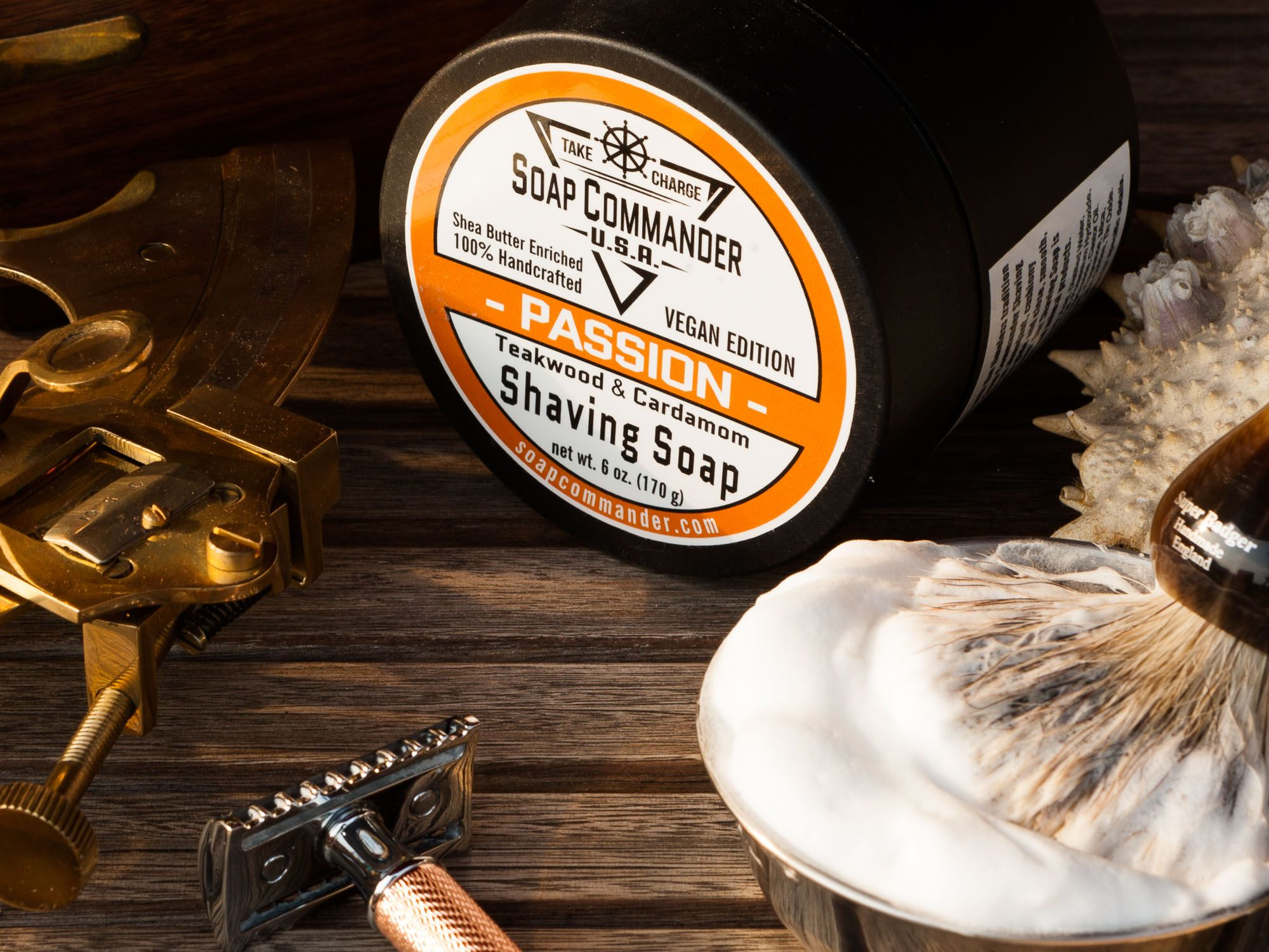 You are currently viewing Soap Commander Shaving Soap Passion – recenzja mydła do golenia (MF)