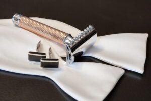 Read more about the article Mühle R41 Rosegold – recenzja maszynki do golenia na żyletki