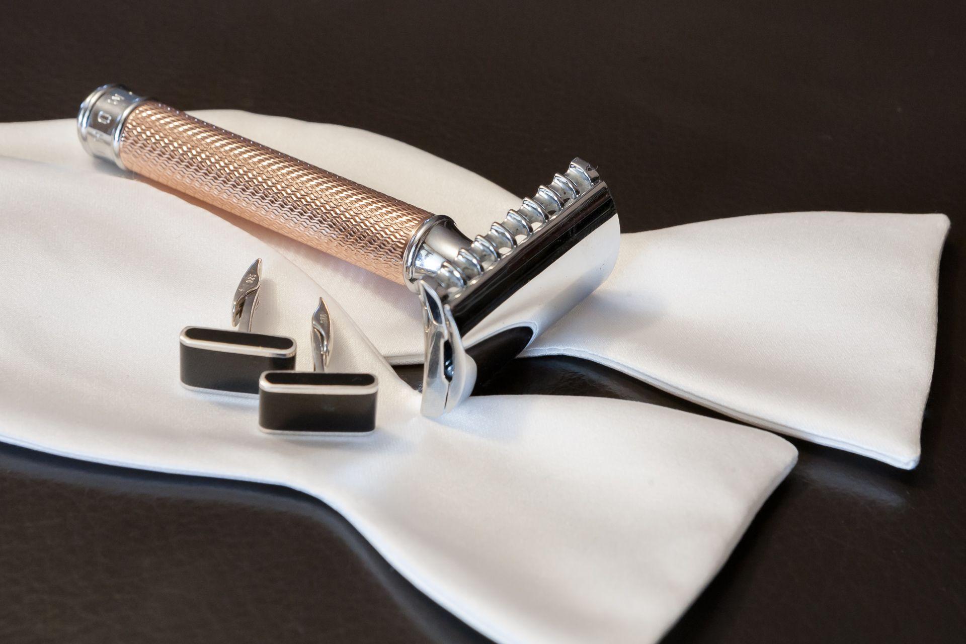 You are currently viewing Mühle R41 Rosegold – recenzja maszynki do golenia na żyletki