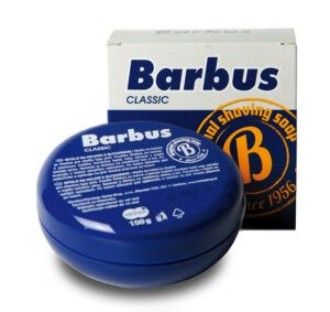 Read more about the article Barbus Classic mydlo na holenie (shaving soap) – recenzja mydła do golenia