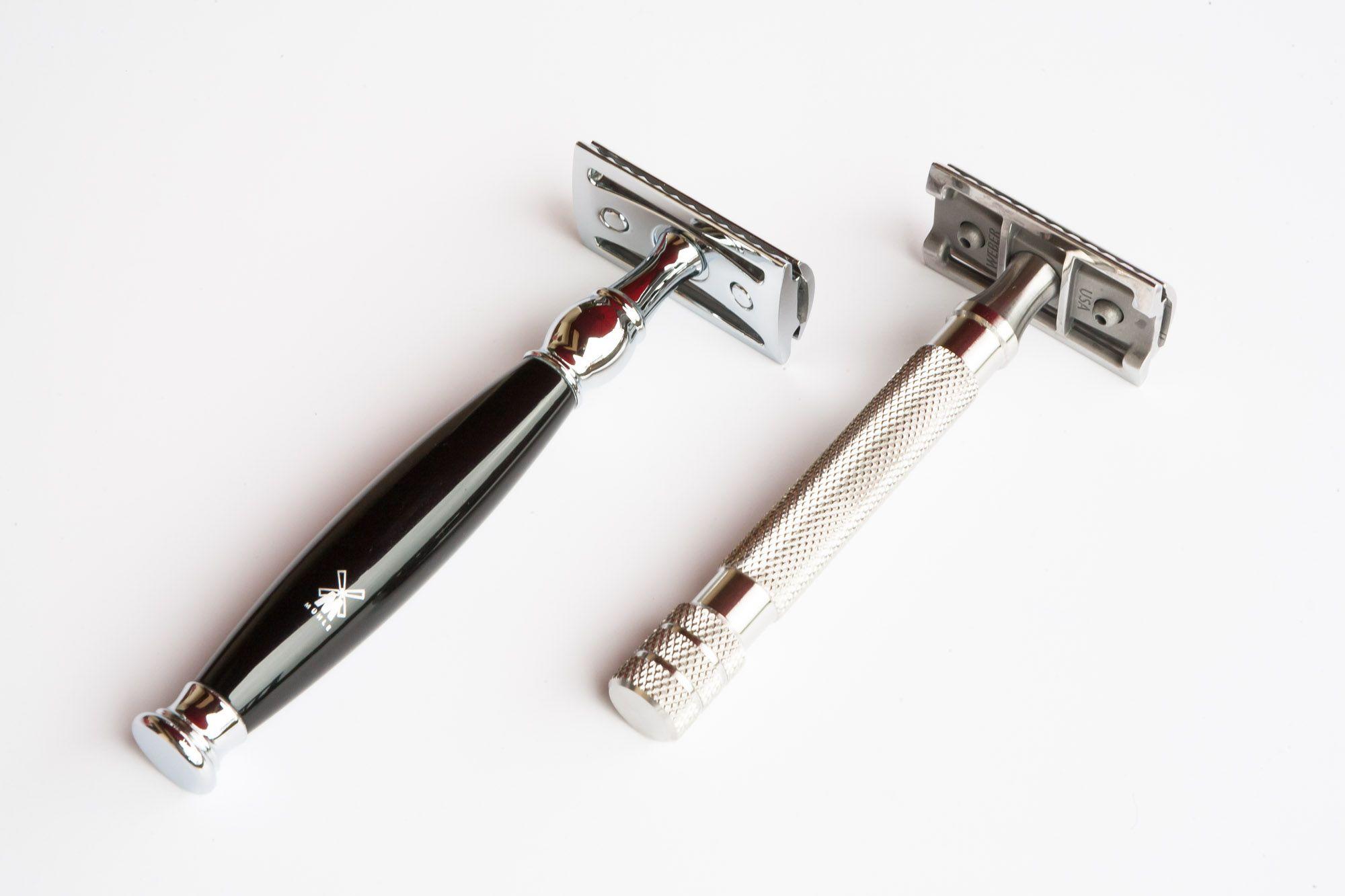 Weber Classic – porównanie długości rączki z Mühle Sophist