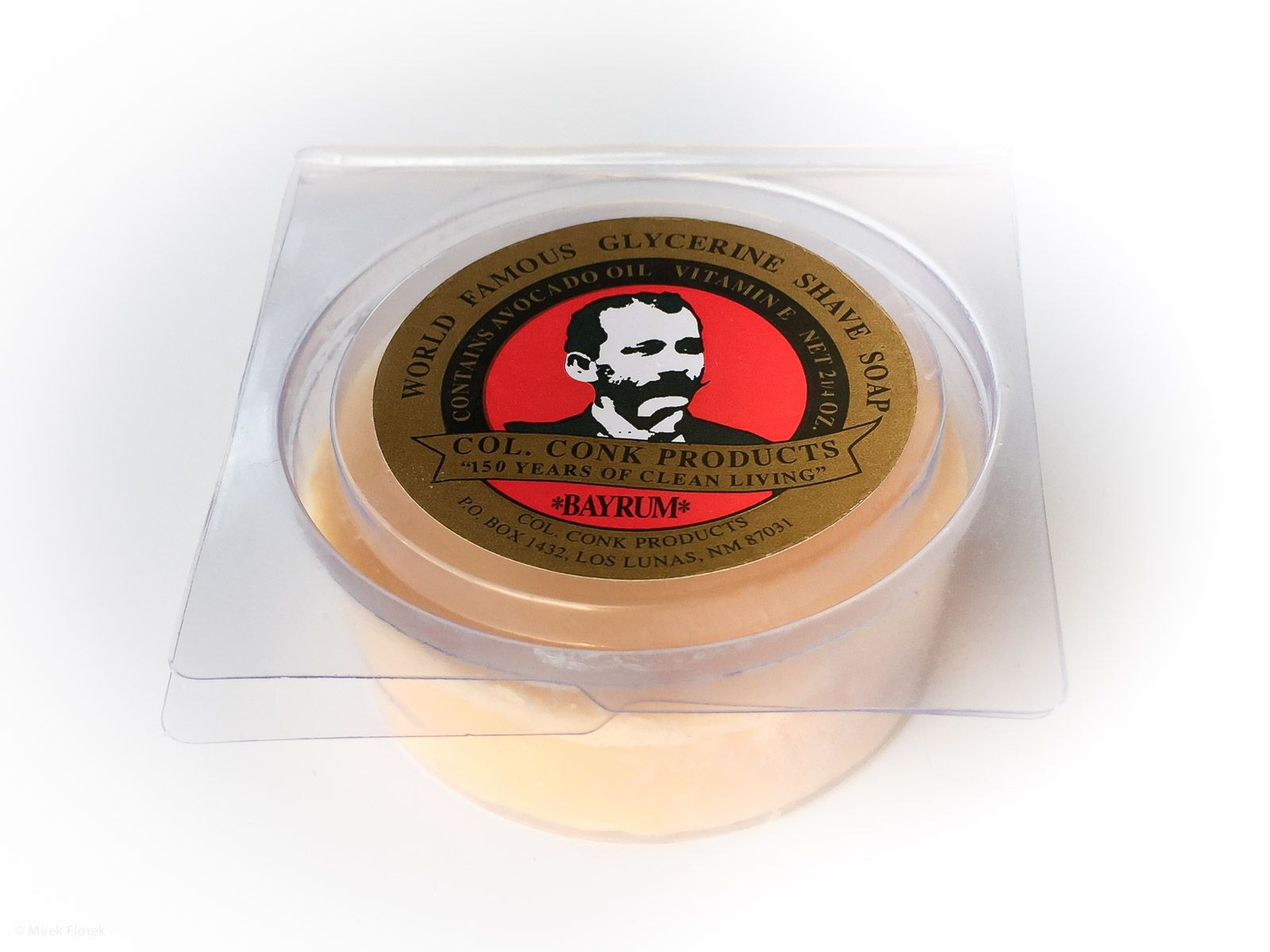 You are currently viewing Col. Conk Bay Rum Shave Soap – recenzja mydła do golenia