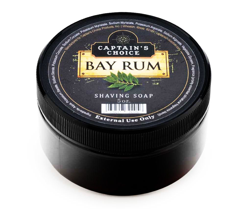 Mydło do golenia Captain's Choice Bay Rum Shaving Soap