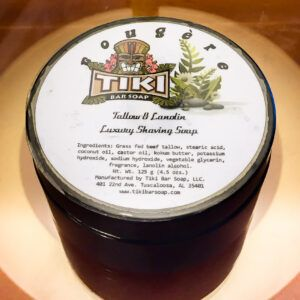 Read more about the article Tiki Bar Fougère Tallow Luxury Shaving Soap – recenzja mydła do golenia