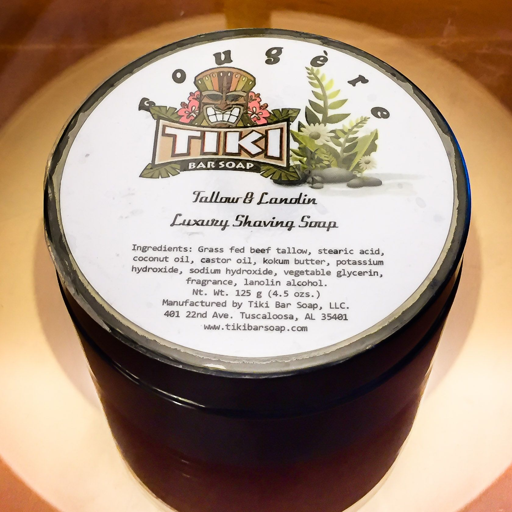 You are currently viewing Tiki Bar Fougère Tallow Luxury Shaving Soap – recenzja mydła do golenia