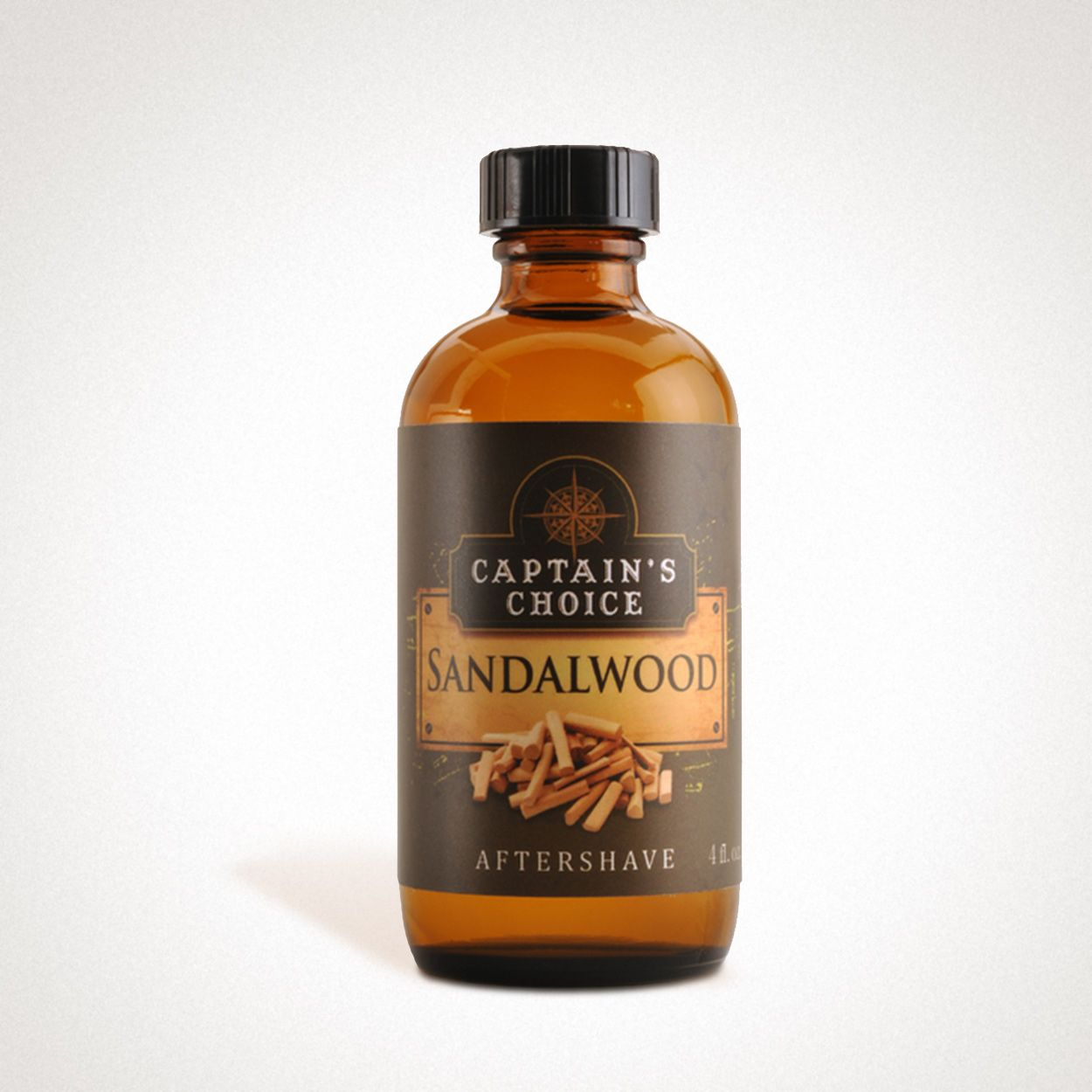Butelka Captain's Choice Sandalwood Aftershave (zdjęcie Captain's Choice)