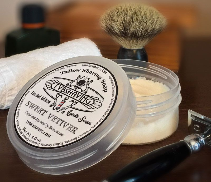 You are currently viewing TVB Shaving Lebelle Soaps Sweet Vetiver Tallow Shaving Soap – recenzja mydła do golenia