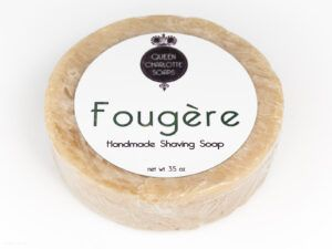 Read more about the article Queen Charlotte Soaps Fougère Shaving Soap – recenzja mydła do golenia