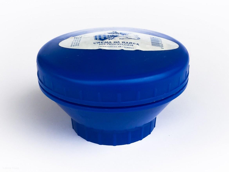 Opakowanie mydła do golenia Tcheon Fung Sing Ciotola Blu Crema di Barba (Blue Jar) Shaving Soap