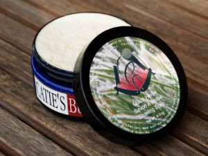Read more about the article Catie's Bubbles Glacé Herbe Shaving Soap – recenzja mydła do golenia