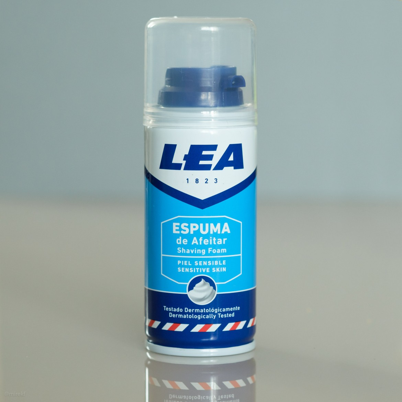 Puszka pianki do golenia LEA Piel Sensible Espuma de Afeitar