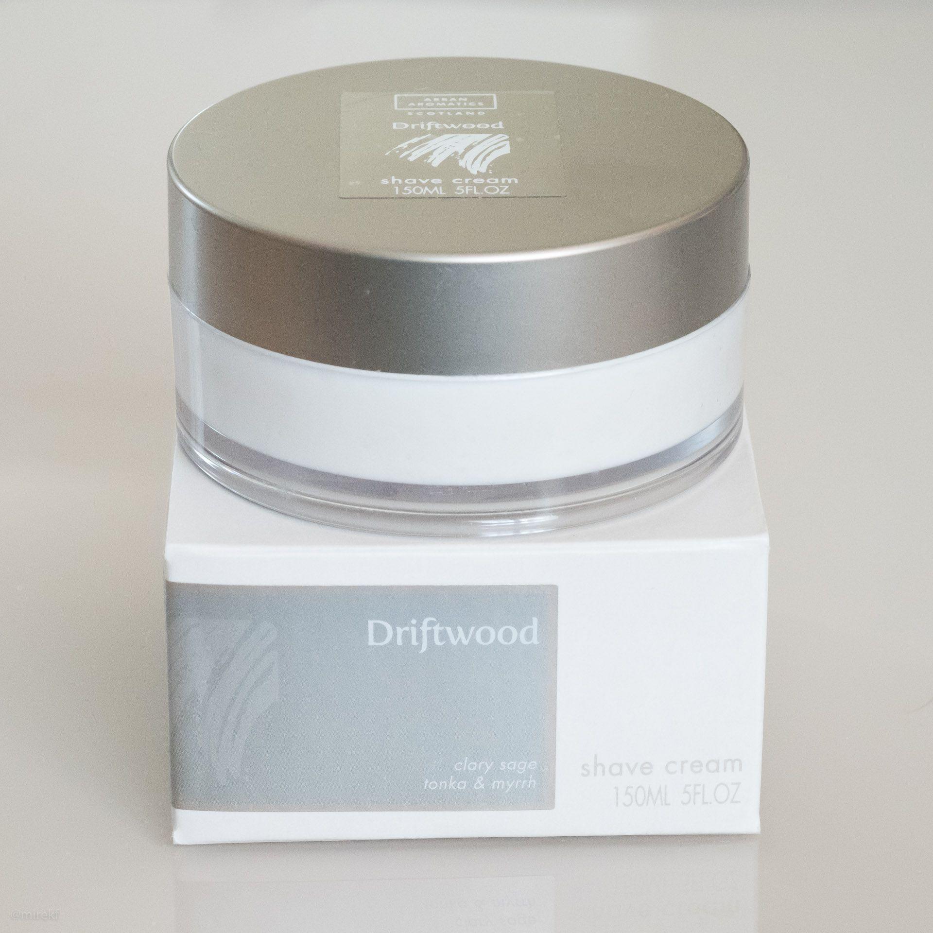 You are currently viewing Arran Aromatics Driftwood Shaving Cream – recenzja kremu do golenia