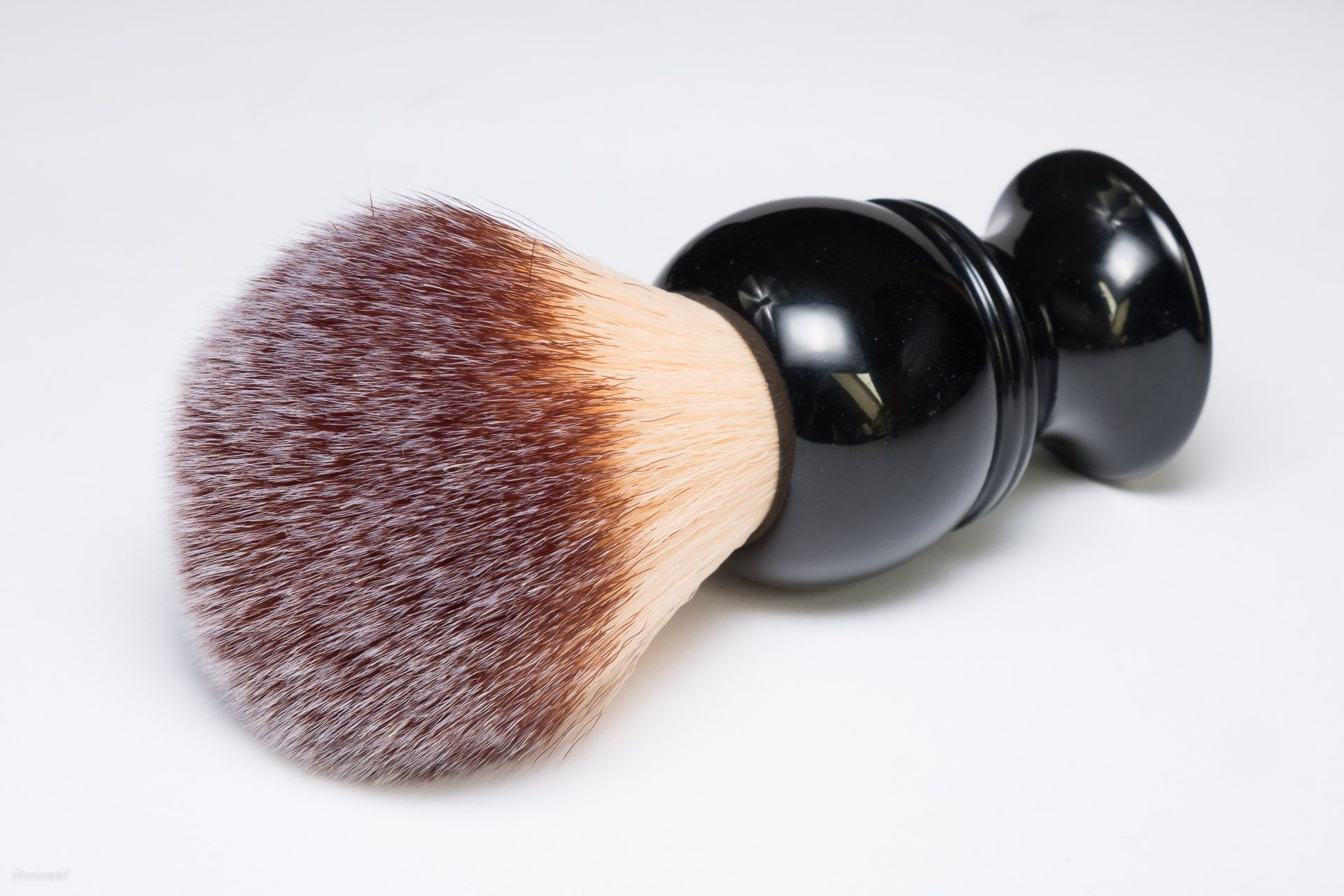 Pędzel Maggard Razors 24mm Synthetic Shaving Brush, Black Handle